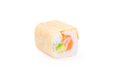 EGG ROLL SAUMON AVOCAT