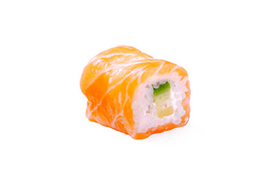 SAUMON ROLL AVOCAT CHEESE